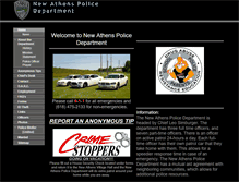 Tablet Preview of newathenspd.org